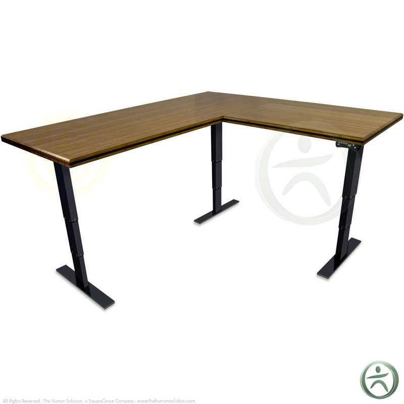 Shop Uplift 950 Height Adjustable Solid Wood Standing Desks