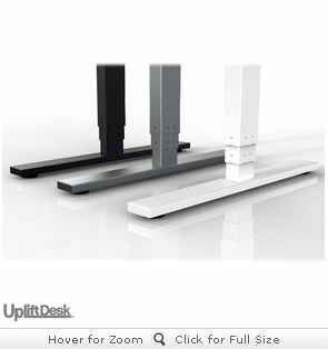 UPLIFT 950 Height-Adjustable L-Shaped Standing Desk