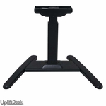 UpLift 970 Height-Adjustable Pedestal Standing Desk Base (Black)