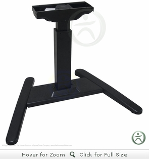 UPLIFT 970 Sit-Stand Ergonomic Desk with Premium 1.5