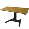 "UpLift 970 Sit-Stand Ergonomic Desk with Premium 1.5"" Thick Bamboo Top"