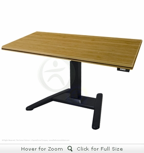 UpLift 970 Sit-Stand Desk with Premium 1.5
