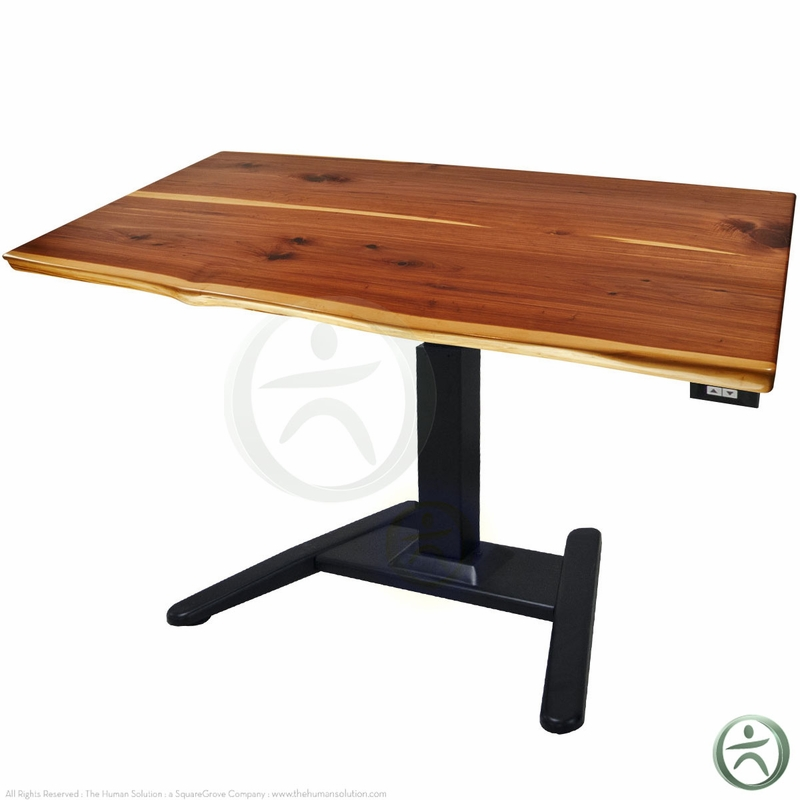 Shop UPLIFT 970 Solid Wood Pedestal Stand Up Desks