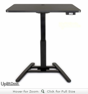 UPLIFT 975 Height-Adjustable Standing Pedestal Desk