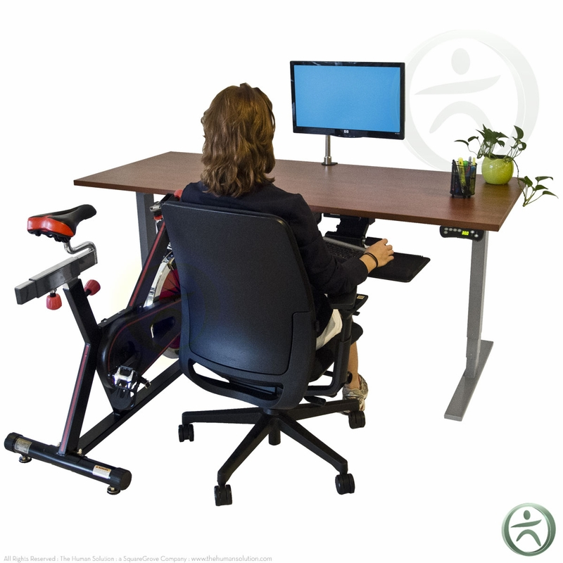 Uplift Height Adjustable Bike Desk Shop Uplift Bike Desks