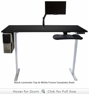 UpLift Complete Height-Adjustable Stand-Up Desk