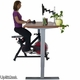 UPLIFT Height-Adjustable Bike Desk