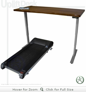 UpLift LifeSpan Treadmill Desk