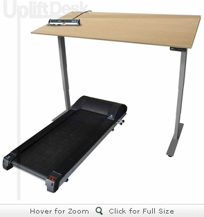 UpLift LifeSpan Treadmill Desk - Sit-Stand-Walk