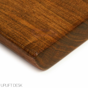 Uplift Mesquite Solid Wood Desktop Only The Human Solution
