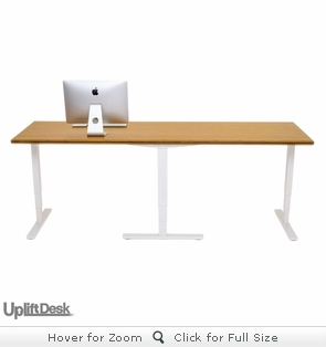 UPLIFT Plus Height-Adjustable Standing Desk