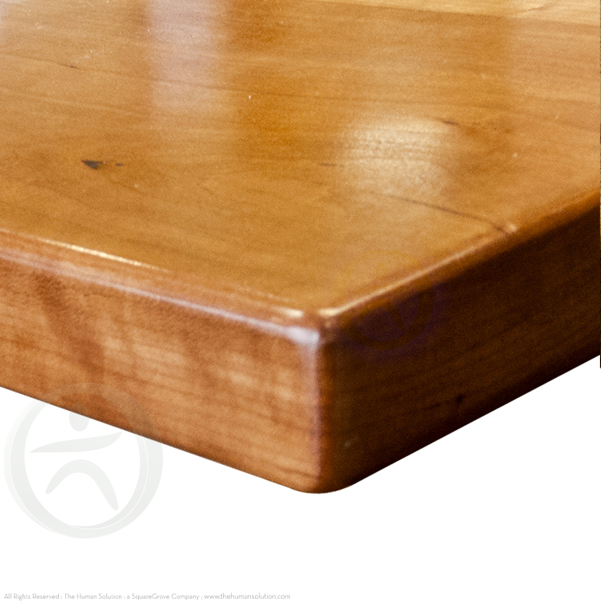 Uplift Cherry Solid Wood Desktop Standing Desk Desktops