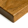 UPLIFT Dark-Stained Pecan Solid Wood Desktop