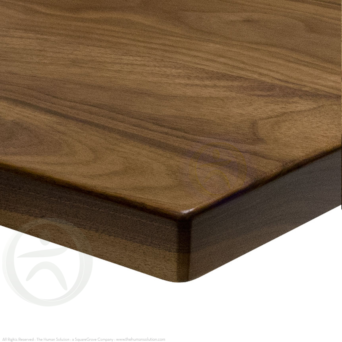 Uplift Walnut Solid Wood Desktop Standing Desk Desktops