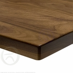 UpLift Solid Wood Desktop - Walnut