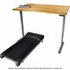 UPLIFT Solid Wood Treadmill Desk - Sit-Stand-Walk