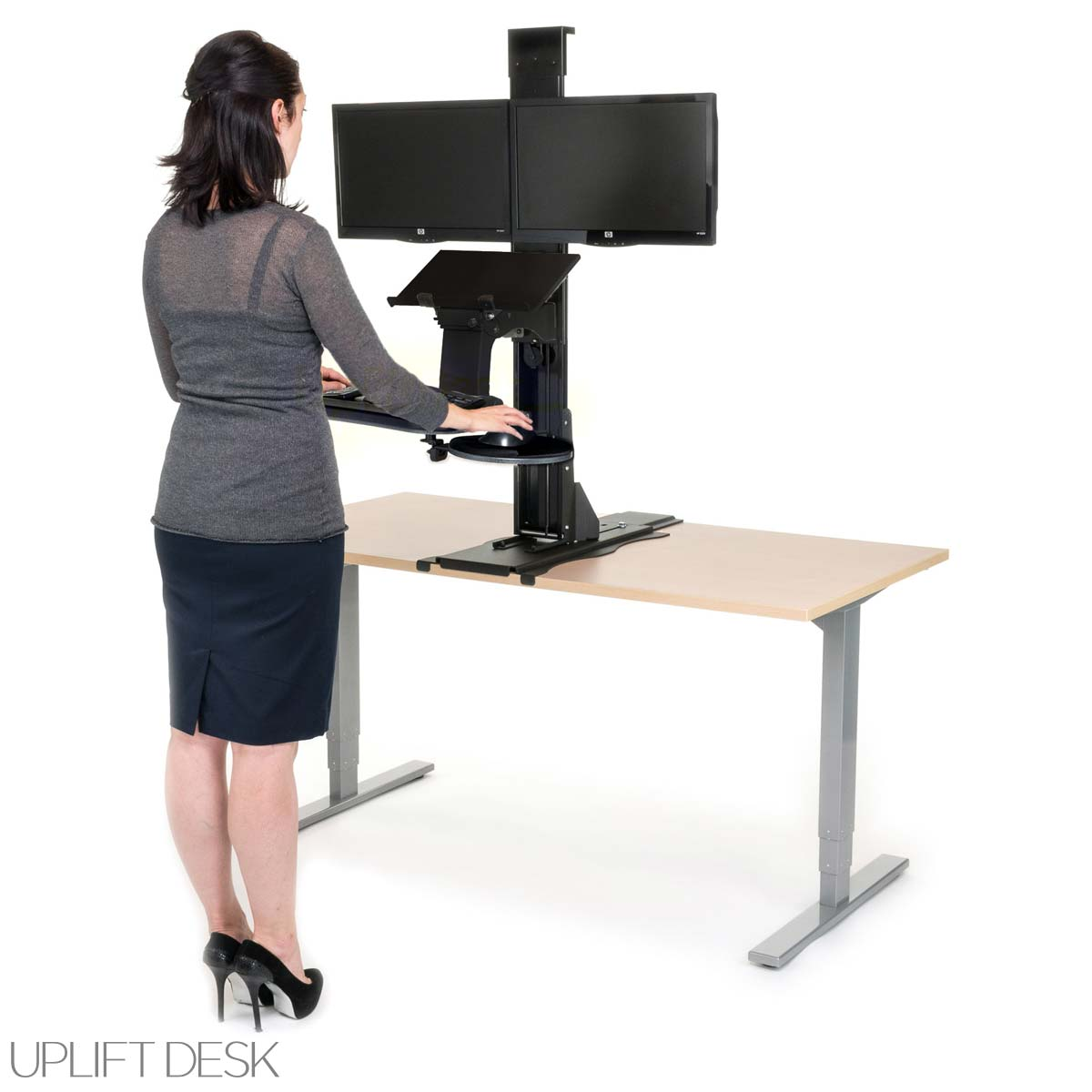 The Best 28 Images Of Convert A Desk To Standing