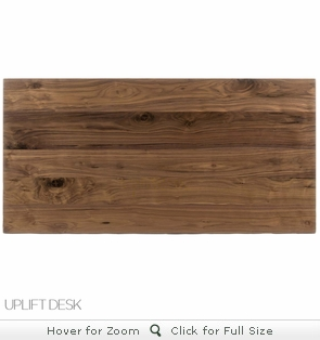 UPLIFT Walnut Solid Wood Desktop