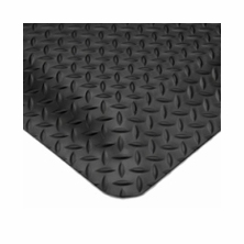 Wearwell 414 15/16'' Ultra Soft Diamond Plate Anti-Fatigue Mats