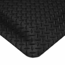 Wearwell 497 1'' Diamond Plate Smart Anti-Fatigue Mats