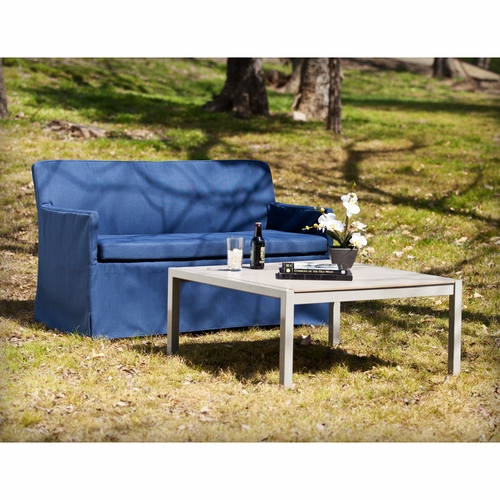 Aragon Outdoor Cocktail & Loveseat 2 pc Set