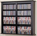 Black Floating Wall Rack 349