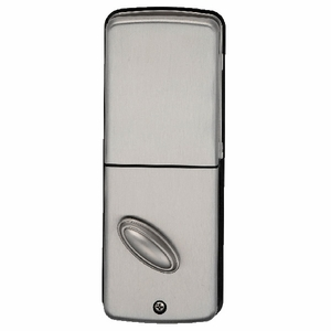 Remote Keypad Deadbolt Satin Nickel