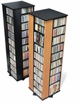 Large CD DVD Spinning Tower