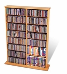 Maple CD Wall Unit 640