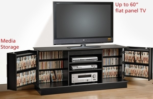 Prepac LCD TV stand console