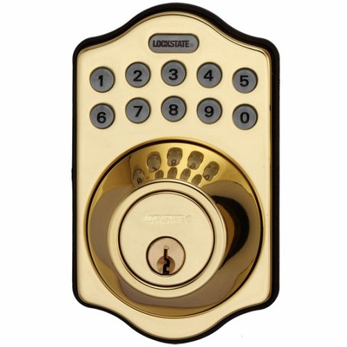 Wi-Fi RemoteLock Deadbolt 500i Polished Brass
