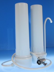 H2oFilters.Com CounterTop Water Filter with Doulton UltraCarb Ceramic Filter and Fluoride Filter