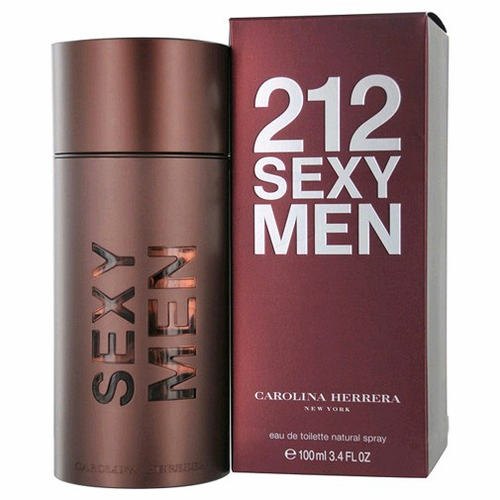 212 Sexy by Carolina Herrera, 3.4 oz Eau De Toilette Spray for Men