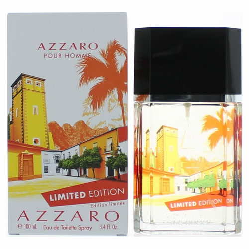 Azzaro Pour Homme Limited Edition 2014 by Azzaro, 3.4 oz Eau De Toilette Spray for Men