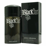Black XS by Paco Rabanne, 3.4 oz Eau De Toilette Spray for Men