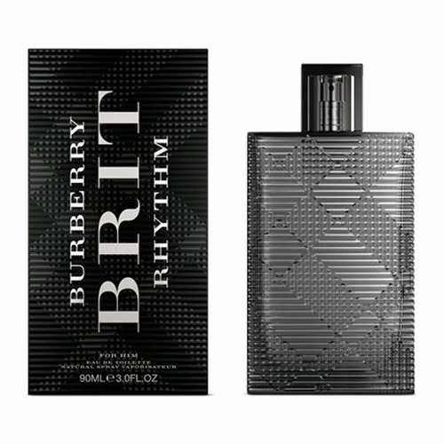 Brit Rhythm by Burberry, 3 oz Eau De Toilette Spray for Men