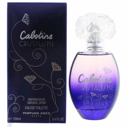 Cabotine Cristalisme by Parfums Gres, 3.4 oz Eau De Toilette Spray for women