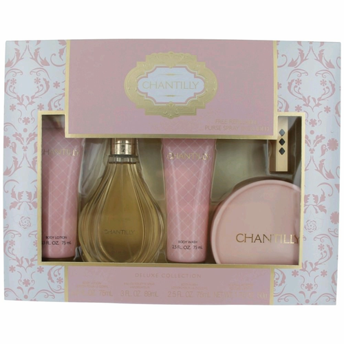 Chantilly by Dana, 5 Piece Gift Set for Women