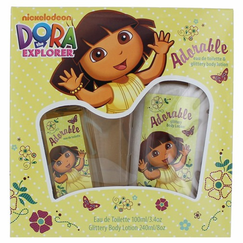 Dora Adorable by Marmol & Sons, 2 Piece Gift Set for Girls