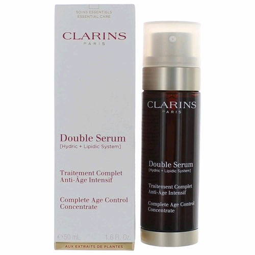 Double Serum by Clarins, 1.6 oz Complete Age Control Concentrate for Women