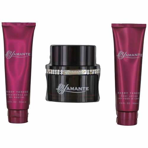 DYamante by Daddy Yankee, 3 Piece Gift Set for Women