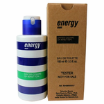 Energy by Benetton, 3.4 oz Eau De Toilette Spray for Men Tester