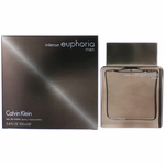 Euphoria Intense by Calvin Klein, 3.4 oz Eau De Toilette Spray for Men