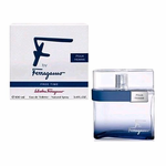 F Free Time by Salvatore Ferragamo, 3.4 oz Eau De Toilette Spray for Men