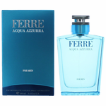 Ferre Acqua Azzurra by Gianfranco Ferre, 3.4 oz Eau De Toilette Spray for Men