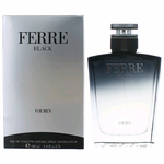 Ferre Black by Gianfranco Ferre, 3.4 oz Eau De Toilette Spray for Men