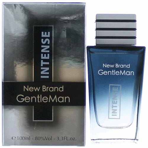 Gentleman Intense by New Brand, 3.4 oz Eau De Toilette Spray for Men