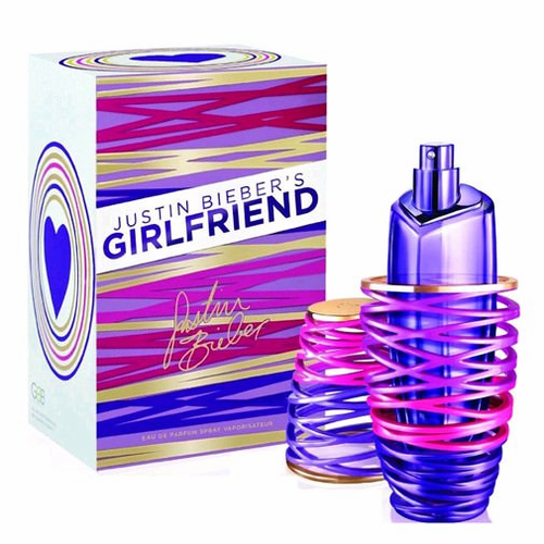 Girlfriend by Justin Bieber, 3.4 oz Eau De Parfum Spray for Women