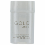 Gold Jay Z by Jay Z, 2.2 oz Alcohol Free Deodorant for Men