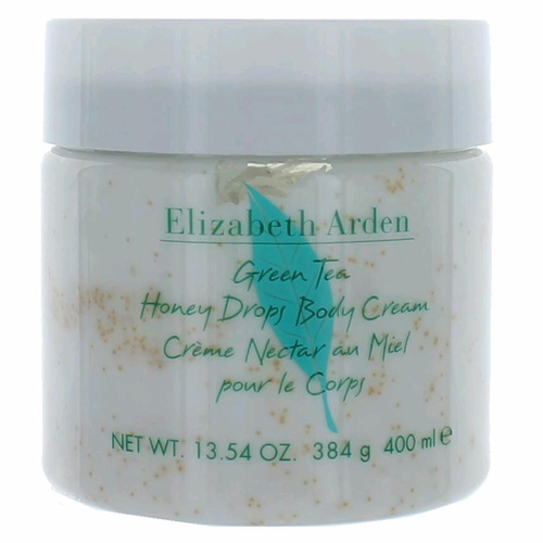 Green Tea by Elizabeth Arden, 13.54 oz Honey Drops Body Cream for Women